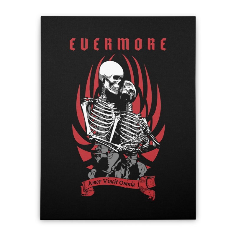 Evermore Home Stretched Canvas by Grandio Design Artist Shop