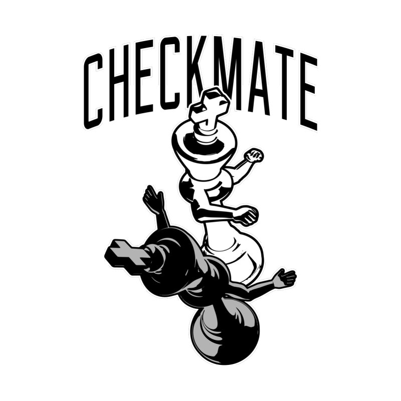 Checkmate Punch Funny Boxing Chess by Grandio Design Artist Shop