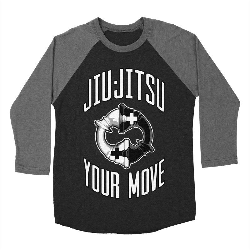 Brazilian Jiu-jitsu Chess Kings Women's Baseball Triblend Longsleeve T-Shirt by Grandio Design Artist Shop