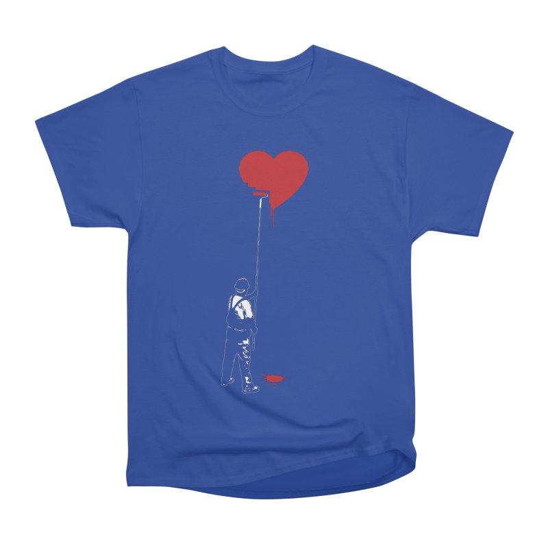 Heart Painter Graffiti Love Women's Heavyweight Unisex T-Shirt by Grandio Design Artist Shop
