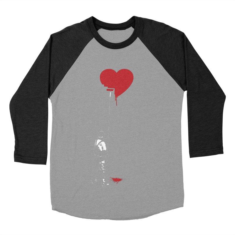 Heart Painter Graffiti Love Women's Baseball Triblend Longsleeve T-Shirt by Grandio Design Artist Shop