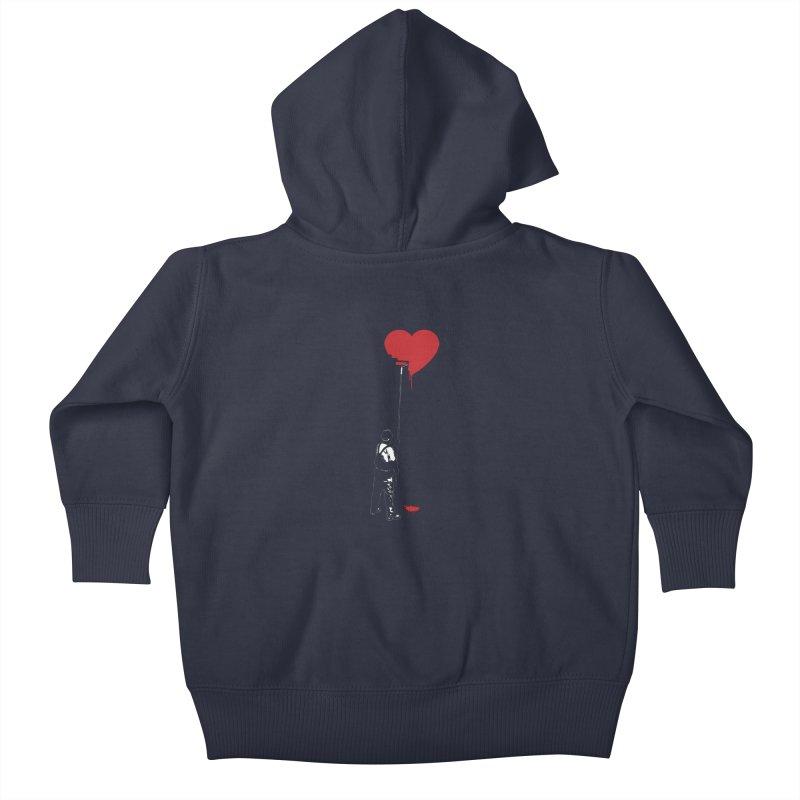 Heart Painter Graffiti Love Kids Baby Zip-Up Hoody by Grandio Design Artist Shop