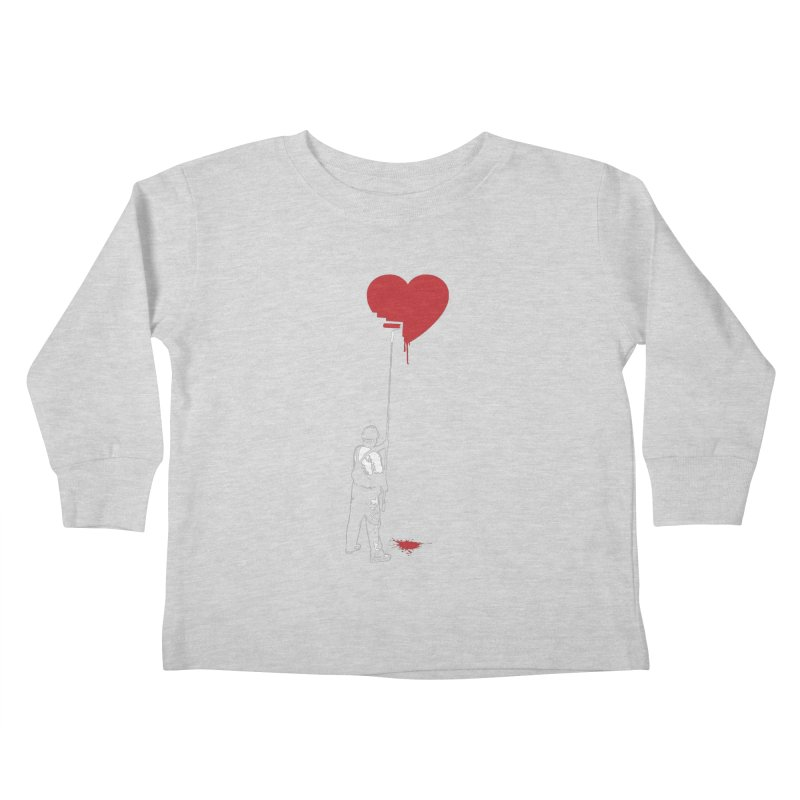 Heart Painter Graffiti Love Kids Toddler Longsleeve T-Shirt by Grandio Design Artist Shop