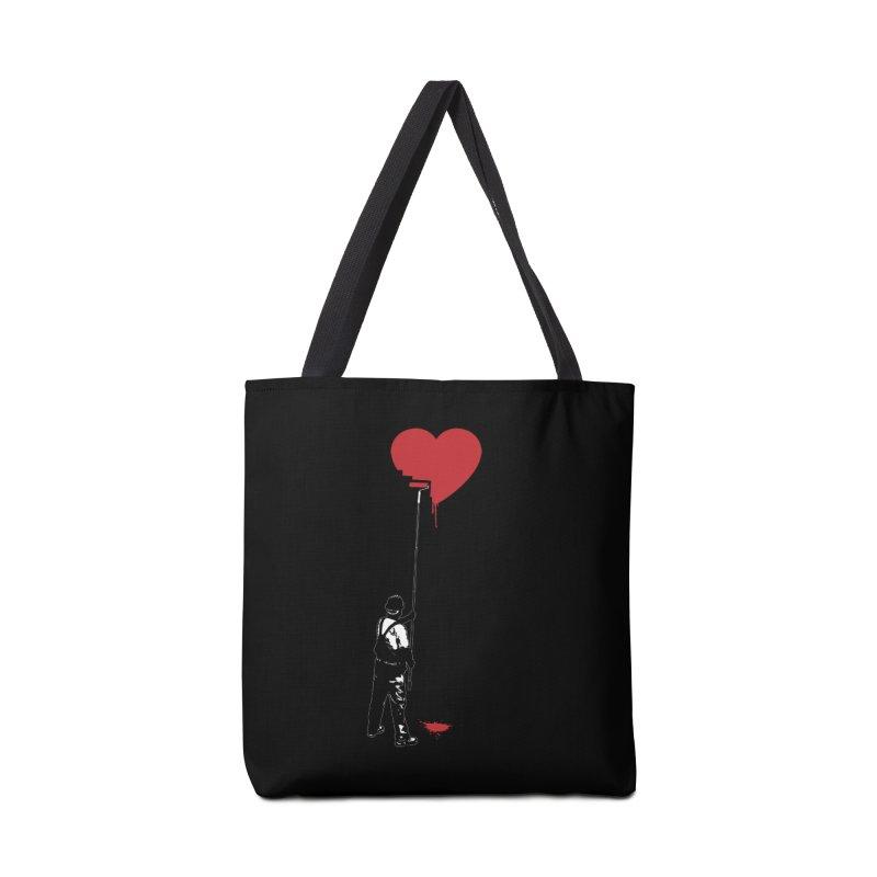 Heart Painter Graffiti Love Accessories Bag by Grandio Design Artist Shop