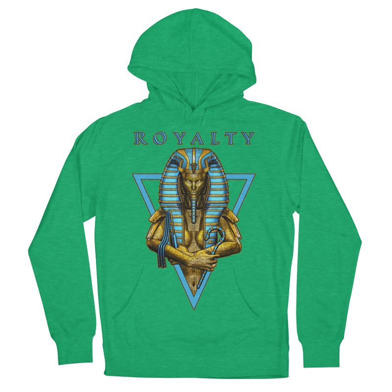 Sacred Queen Women's French Terry Pullover Hoody by Grandio Design Artist Shop