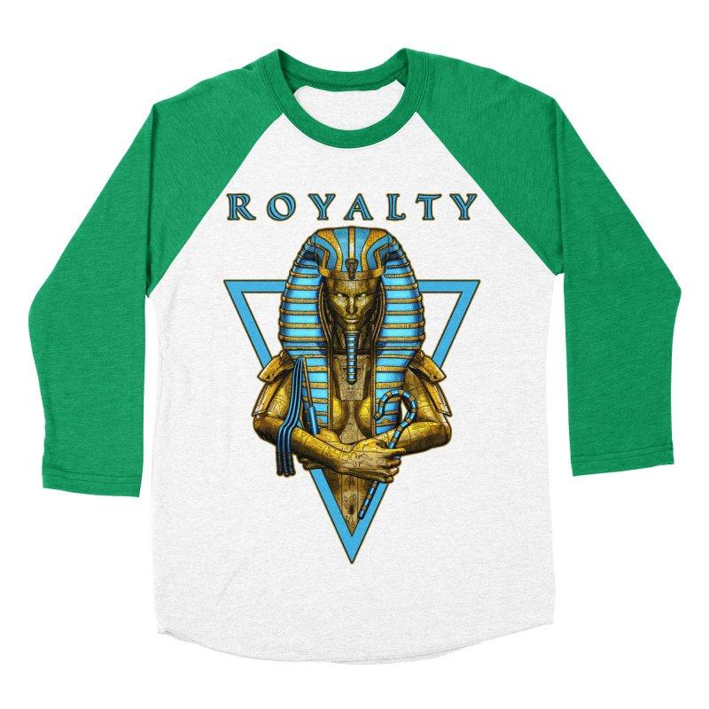 Sacred Queen Women's Baseball Triblend Longsleeve T-Shirt by Grandio Design Artist Shop