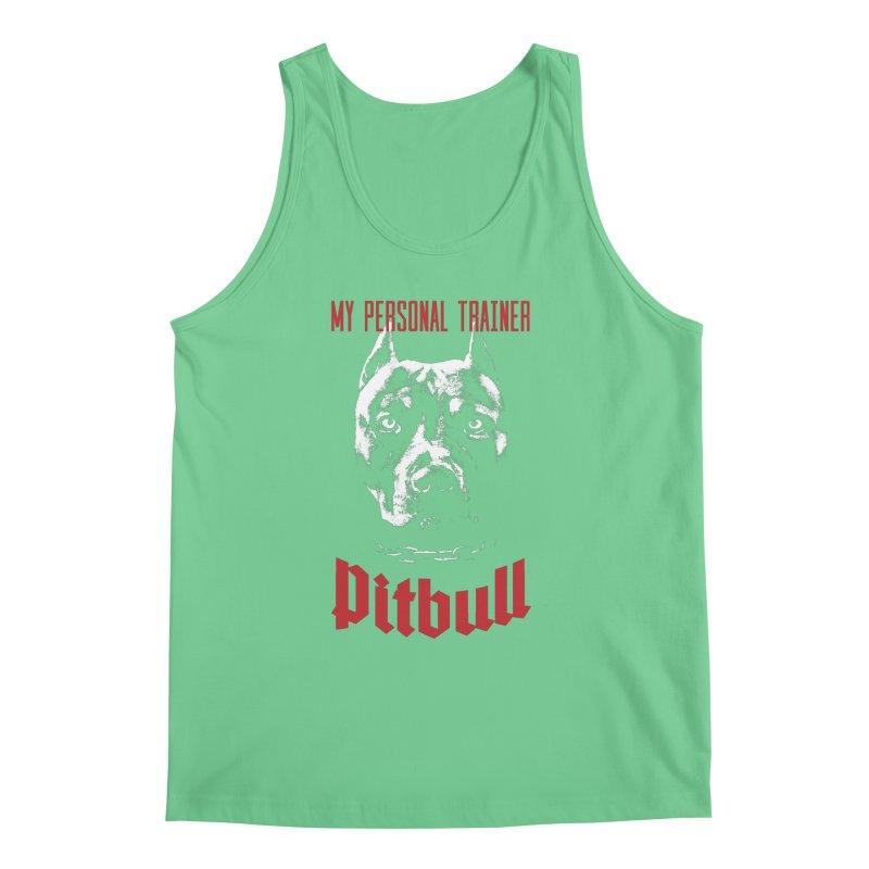 Pitbull My Personal Trainer Men's Regular Tank by Grandio Design Artist Shop