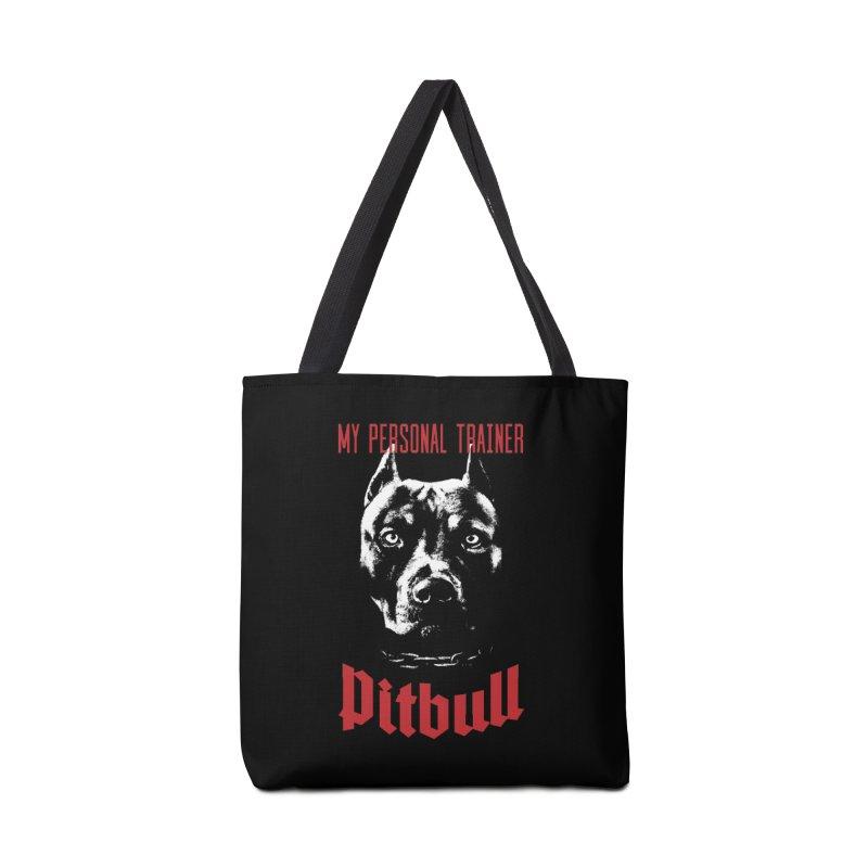 Pitbull My Personal Trainer Accessories Bag by Grandio Design Artist Shop
