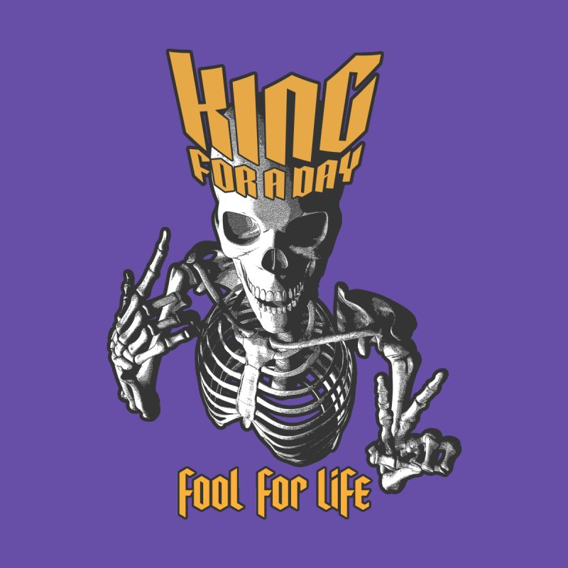 King For A Day Skull by Grandio Design Artist Shop