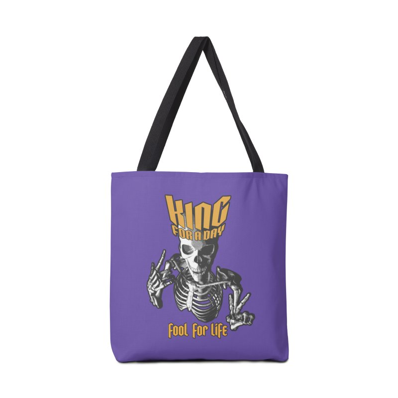 King For A Day Skull Accessories Bag by Grandio Design Artist Shop