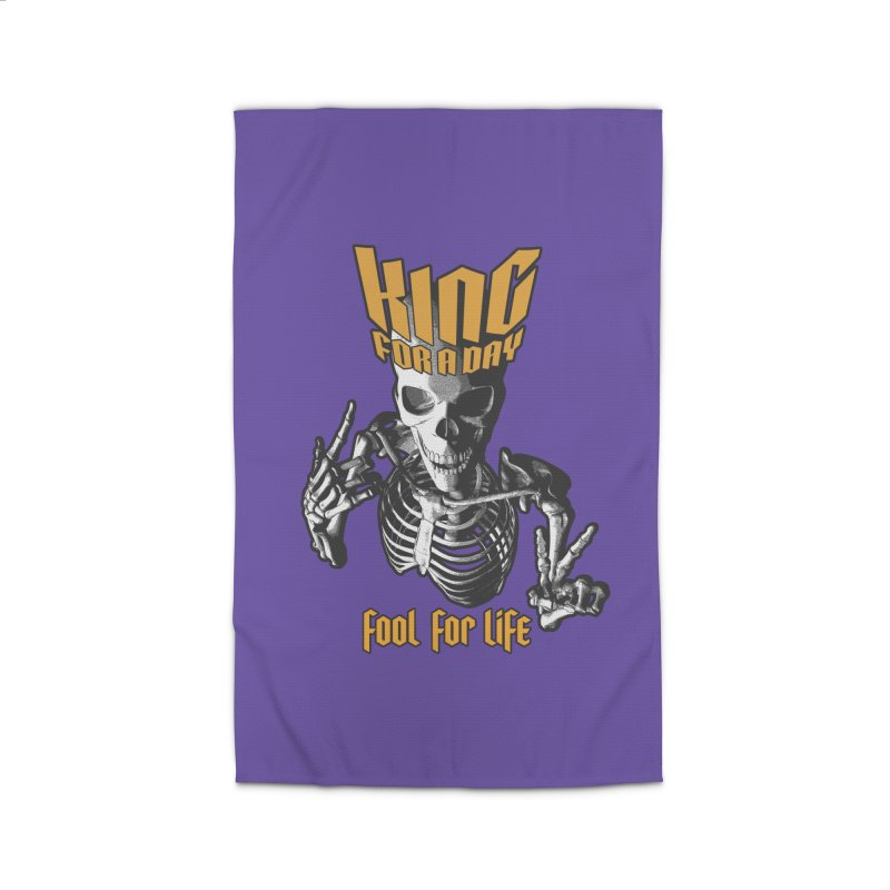 King For A Day Skull Home Rug by Grandio Design Artist Shop