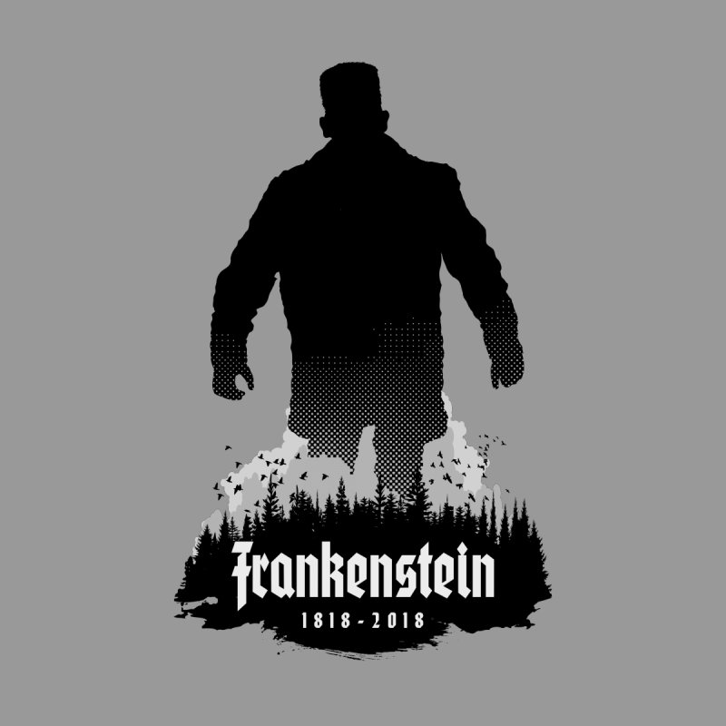 Frankenstein 1818-2018 - 200th Anniversary Women's Longsleeve T-Shirt by Grandio Design Artist Shop