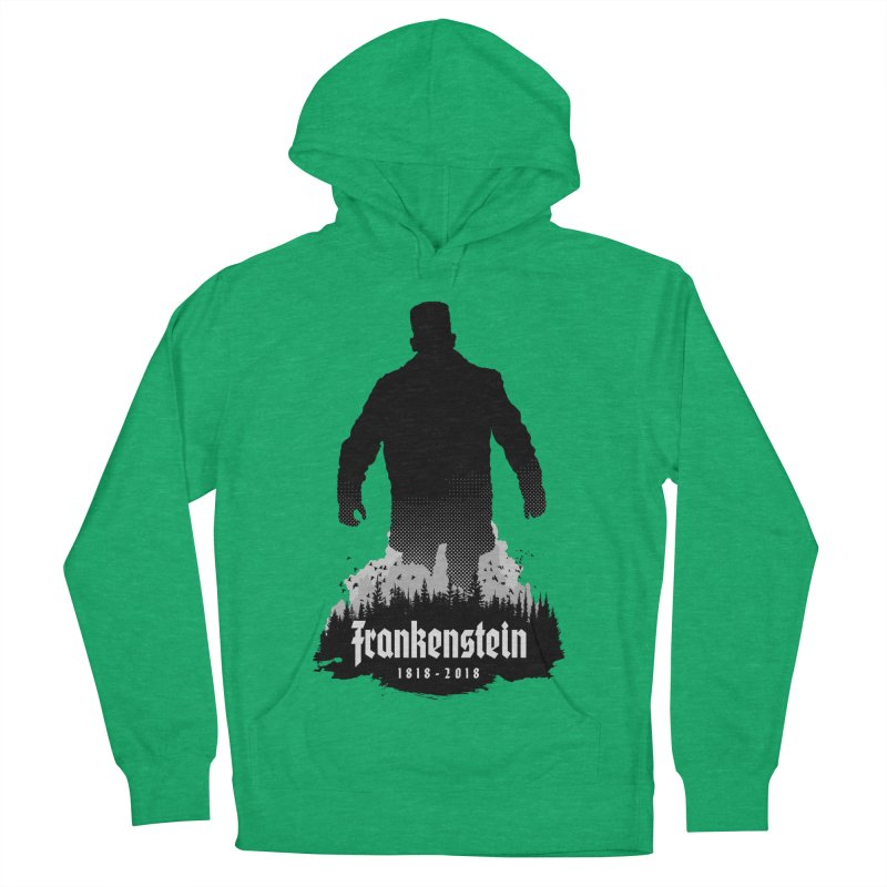 Frankenstein 1818-2018 - 200th Anniversary Women's French Terry Pullover Hoody by Grandio Design Artist Shop
