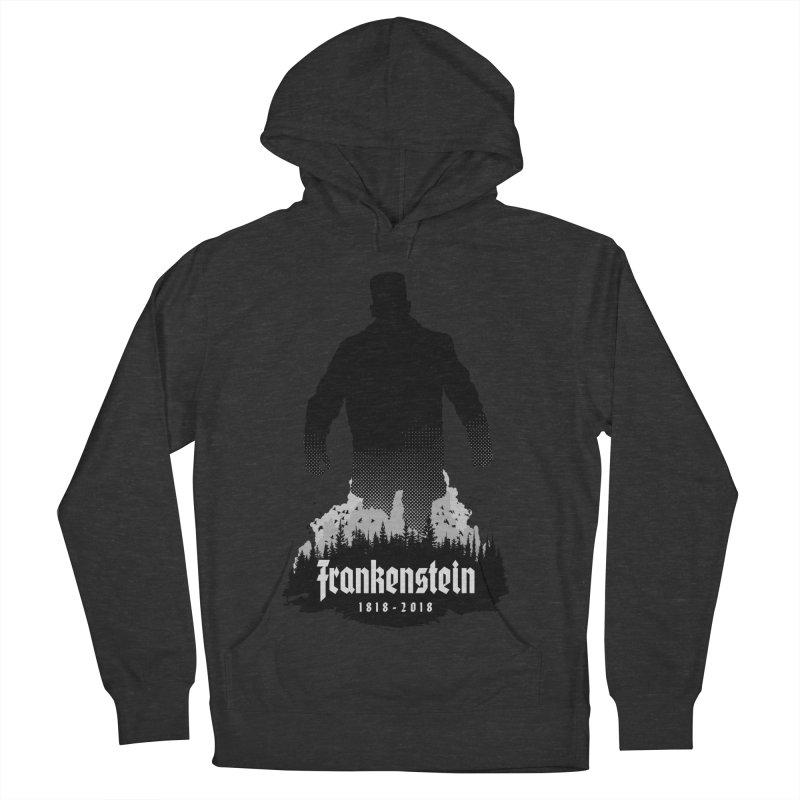 Frankenstein 1818-2018 - 200th Anniversary Women's French Terry Pullover Hoody by Grandio Design Artist Shop