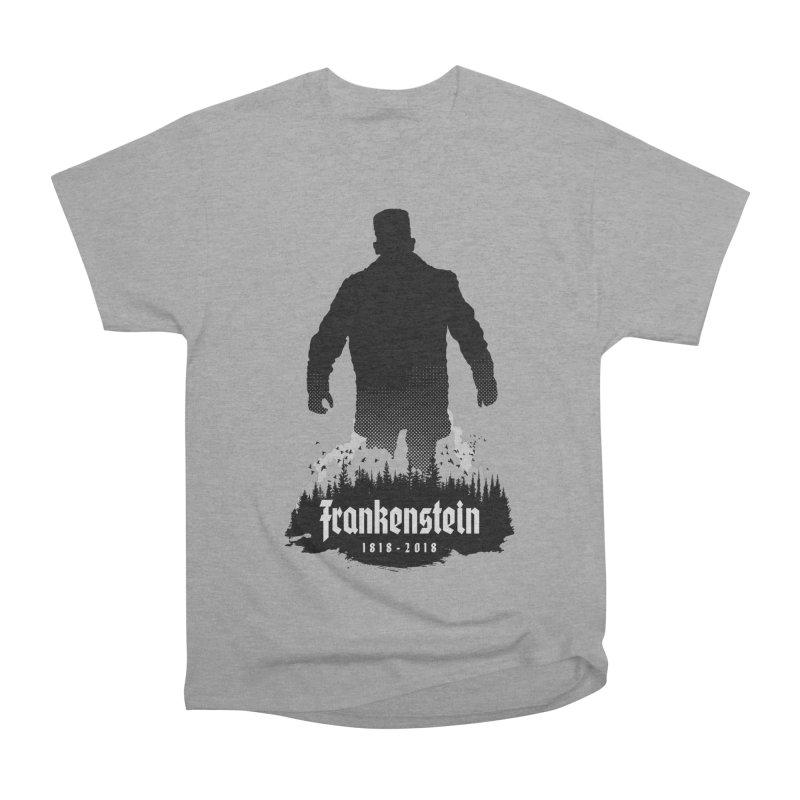 Frankenstein 1818-2018 - 200th Anniversary Women's Heavyweight Unisex T-Shirt by Grandio Design Artist Shop