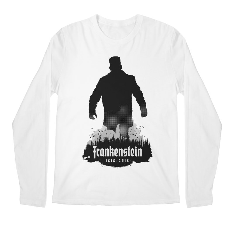 Frankenstein 1818-2018 - 200th Anniversary Men's Regular Longsleeve T-Shirt by Grandio Design Artist Shop