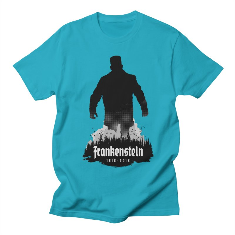 Frankenstein 1818-2018 - 200th Anniversary Men's Regular T-Shirt by Grandio Design Artist Shop