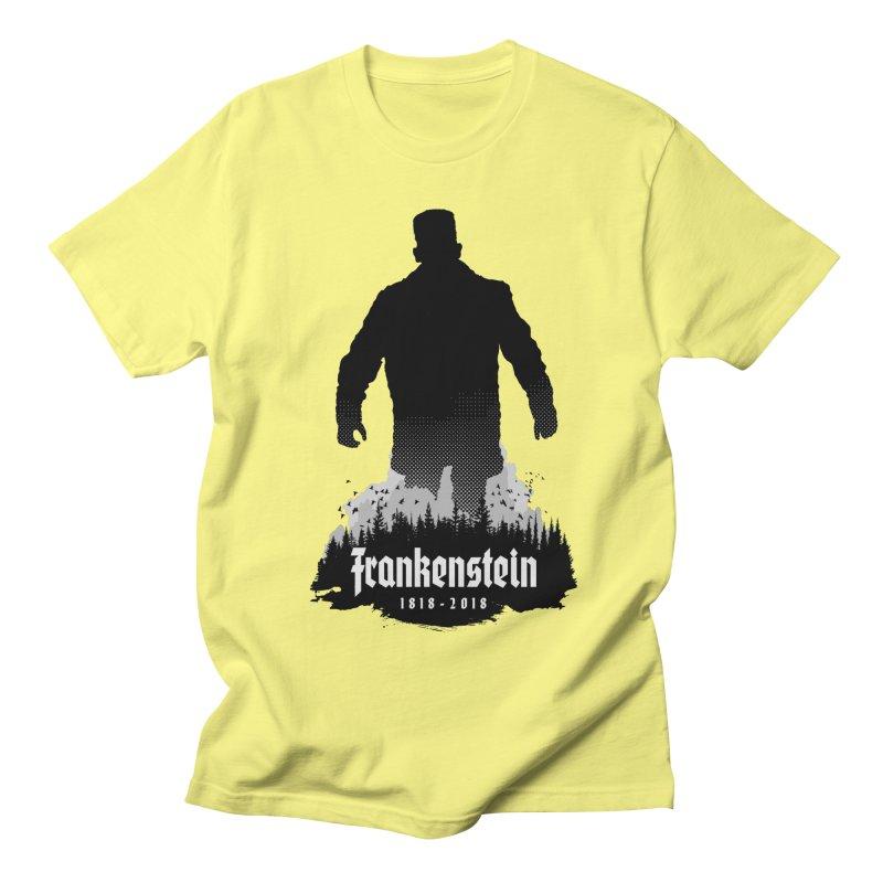 Frankenstein 1818-2018 - 200th Anniversary Women's Regular Unisex T-Shirt by Grandio Design Artist Shop