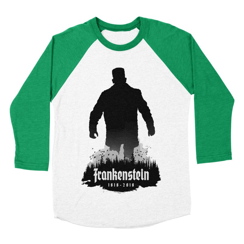 Frankenstein 1818-2018 - 200th Anniversary Women's Baseball Triblend Longsleeve T-Shirt by Grandio Design Artist Shop