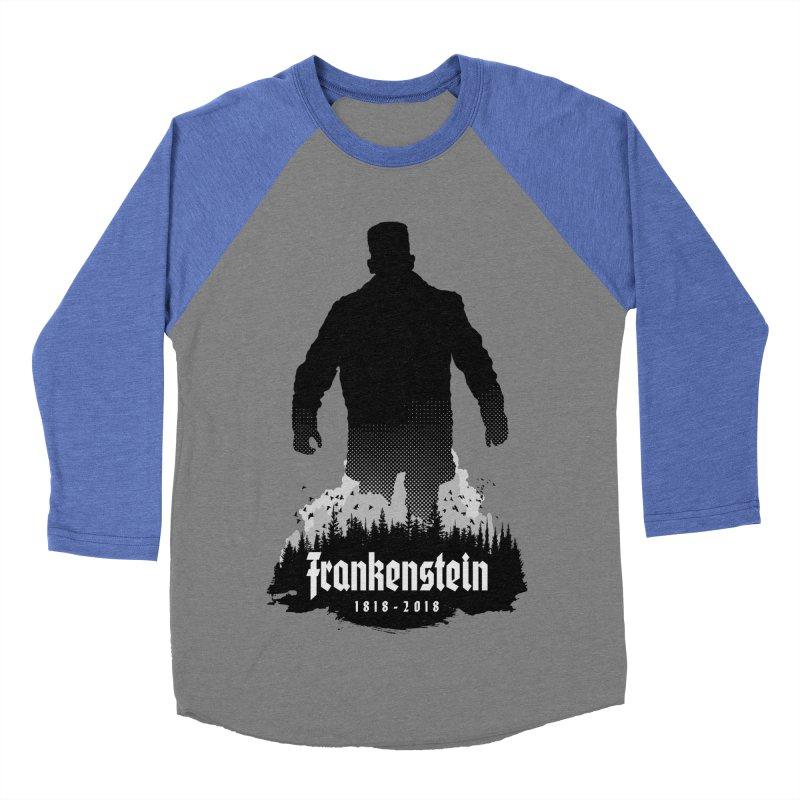 Frankenstein 1818-2018 - 200th Anniversary Women's Baseball Triblend Longsleeve T-Shirt by Grandio Design Artist Shop