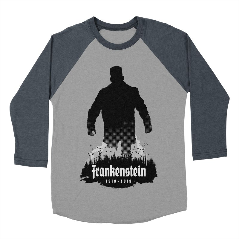Frankenstein 1818-2018 - 200th Anniversary Men's Baseball Triblend Longsleeve T-Shirt by Grandio Design Artist Shop