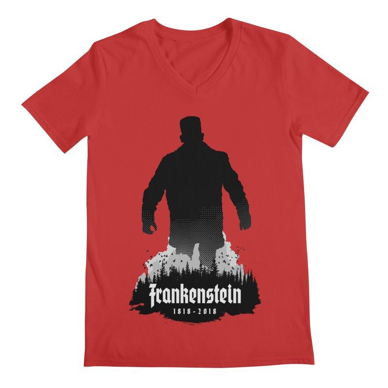 Frankenstein 1818-2018 - 200th Anniversary Men's Regular V-Neck by Grandio Design Artist Shop