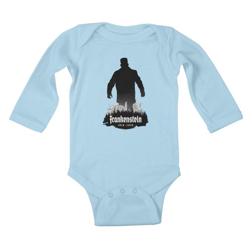Frankenstein 1818-2018 - 200th Anniversary Kids Baby Longsleeve Bodysuit by Grandio Design Artist Shop