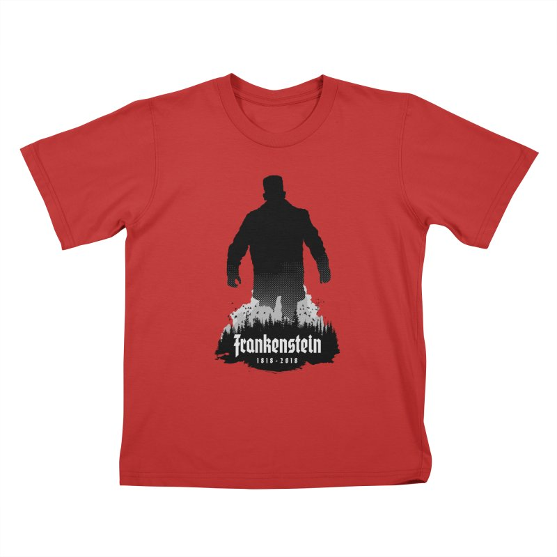 Frankenstein 1818-2018 - 200th Anniversary Kids T-Shirt by Grandio Design Artist Shop