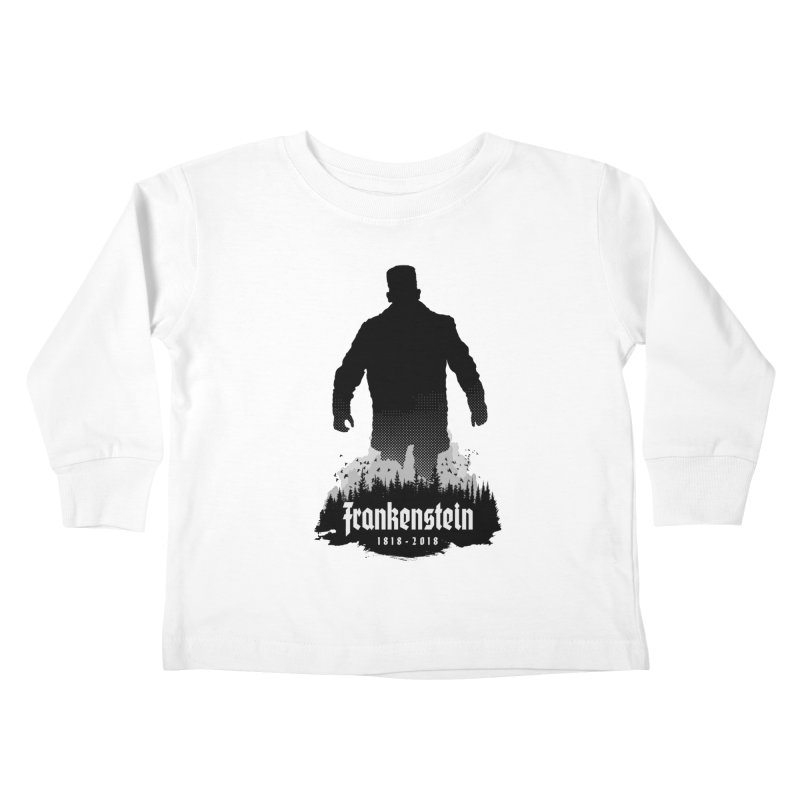 Frankenstein 1818-2018 - 200th Anniversary Kids Toddler Longsleeve T-Shirt by Grandio Design Artist Shop