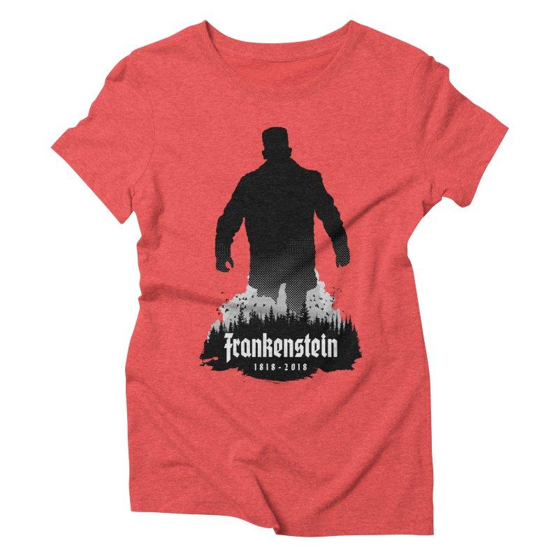 Frankenstein 1818-2018 - 200th Anniversary Women's Triblend T-Shirt by Grandio Design Artist Shop