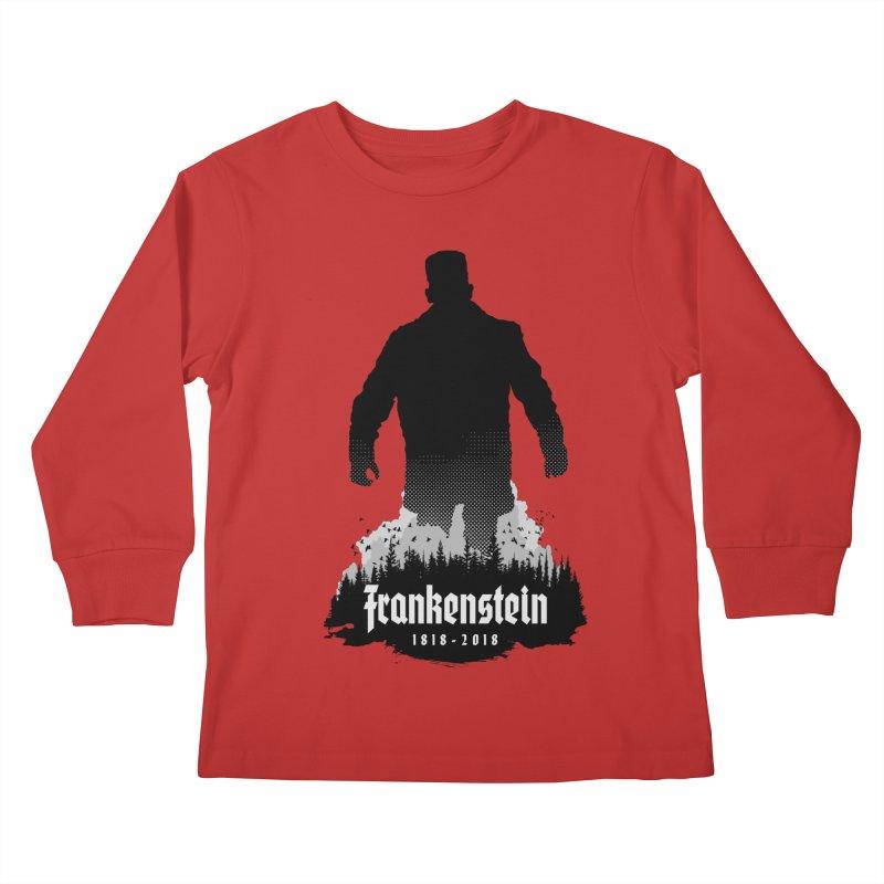 Frankenstein 1818-2018 - 200th Anniversary Kids Longsleeve T-Shirt by Grandio Design Artist Shop