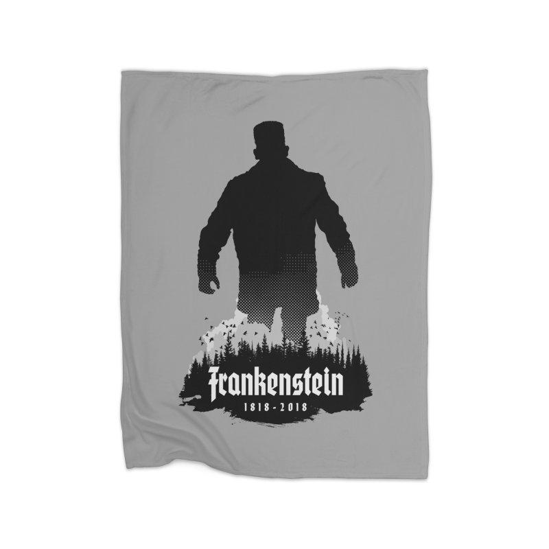 Frankenstein 1818-2018 - 200th Anniversary Home Blanket by Grandio Design Artist Shop
