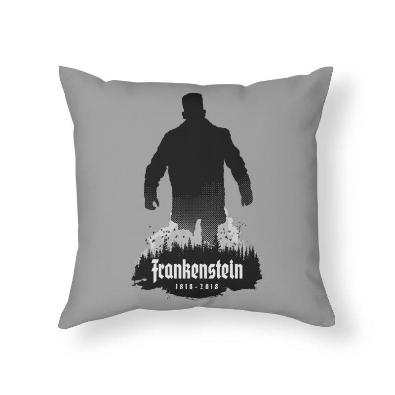 Frankenstein 1818-2018 - 200th Anniversary Home Throw Pillow by Grandio Design Artist Shop