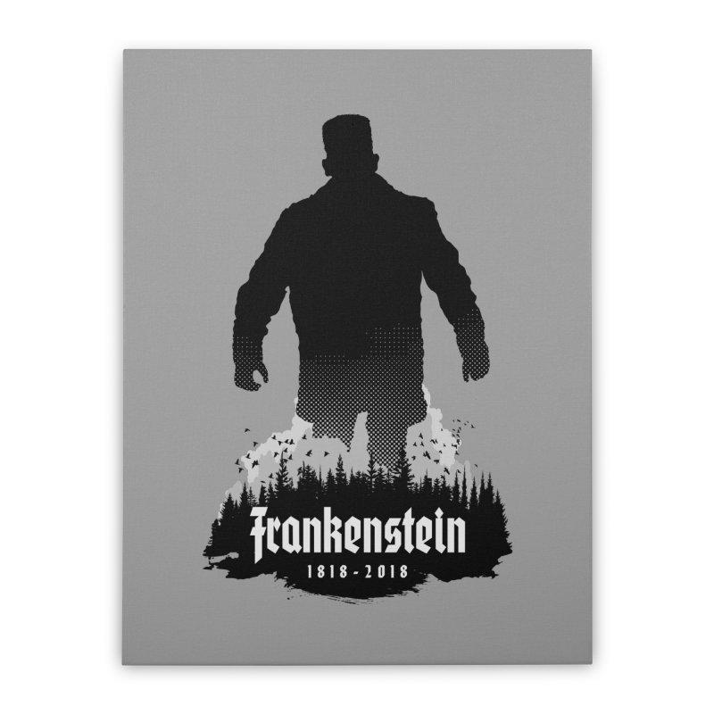 Frankenstein 1818-2018 - 200th Anniversary Home Stretched Canvas by Grandio Design Artist Shop