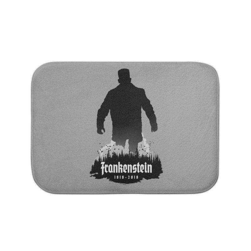Frankenstein 1818-2018 - 200th Anniversary Home Bath Mat by Grandio Design Artist Shop