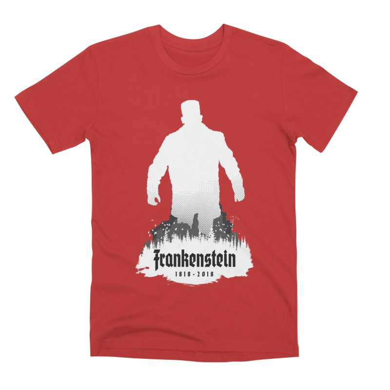 Frankenstein 1818-2018 - 200th Anniversary INV Men's Premium T-Shirt by Grandio Design Artist Shop