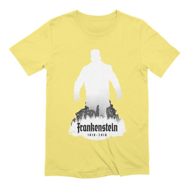 Frankenstein 1818-2018 - 200th Anniversary INV Men's Extra Soft T-Shirt by Grandio Design Artist Shop