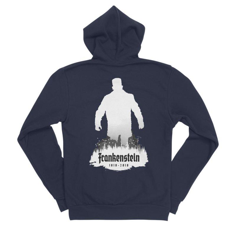 Frankenstein 1818-2018 - 200th Anniversary INV Men's Sponge Fleece Zip-Up Hoody by Grandio Design Artist Shop