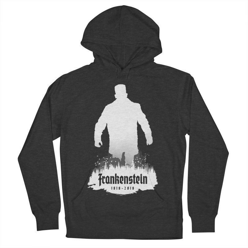 Frankenstein 1818-2018 - 200th Anniversary INV Women's French Terry Pullover Hoody by Grandio Design Artist Shop