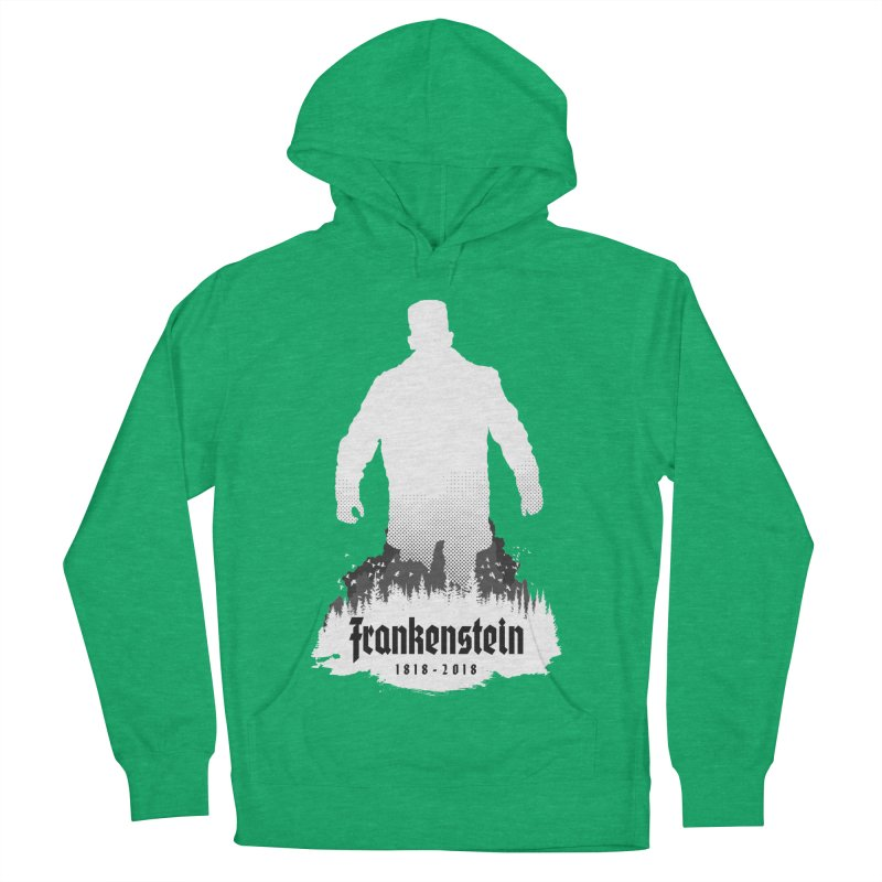 Frankenstein 1818-2018 - 200th Anniversary INV Men's French Terry Pullover Hoody by Grandio Design Artist Shop