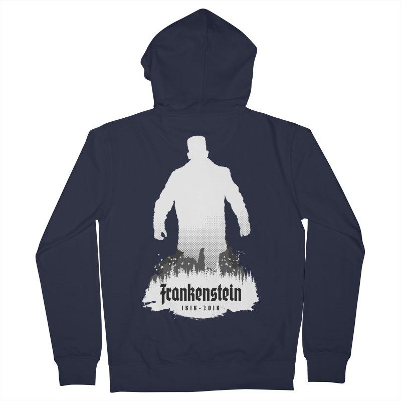 Frankenstein 1818-2018 - 200th Anniversary INV Men's French Terry Zip-Up Hoody by Grandio Design Artist Shop