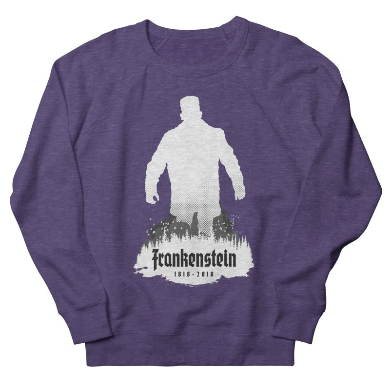 Frankenstein 1818-2018 - 200th Anniversary INV Men's French Terry Sweatshirt by Grandio Design Artist Shop