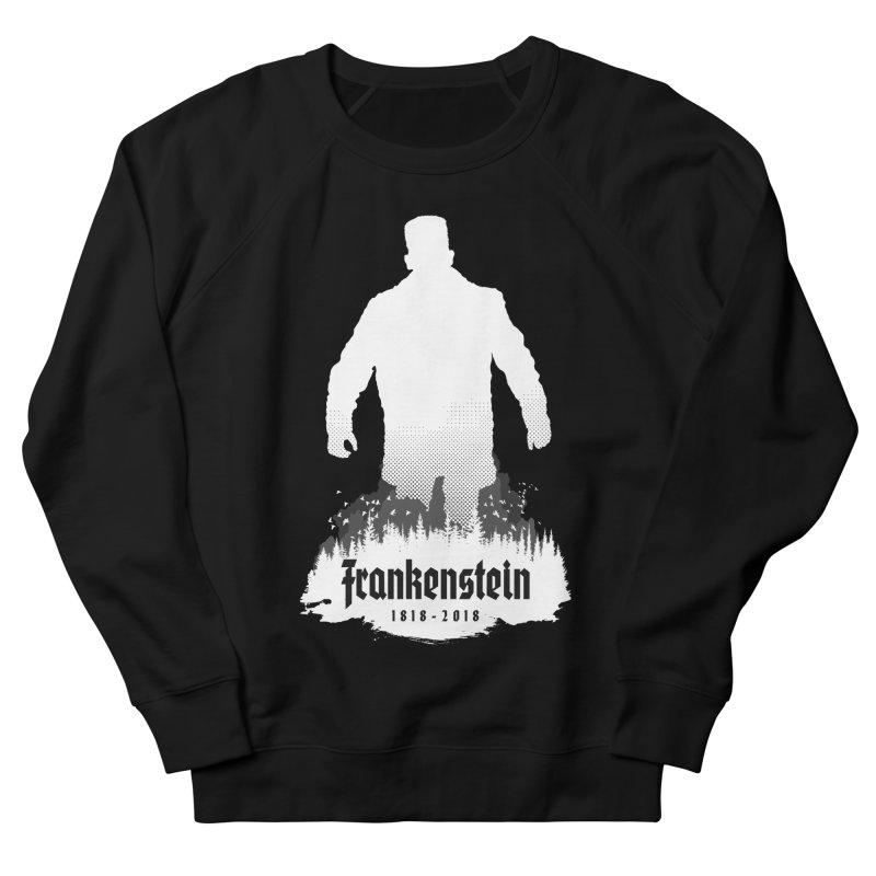 Frankenstein 1818-2018 - 200th Anniversary INV Men's French Terry Sweatshirt by Grandio Design Artist Shop