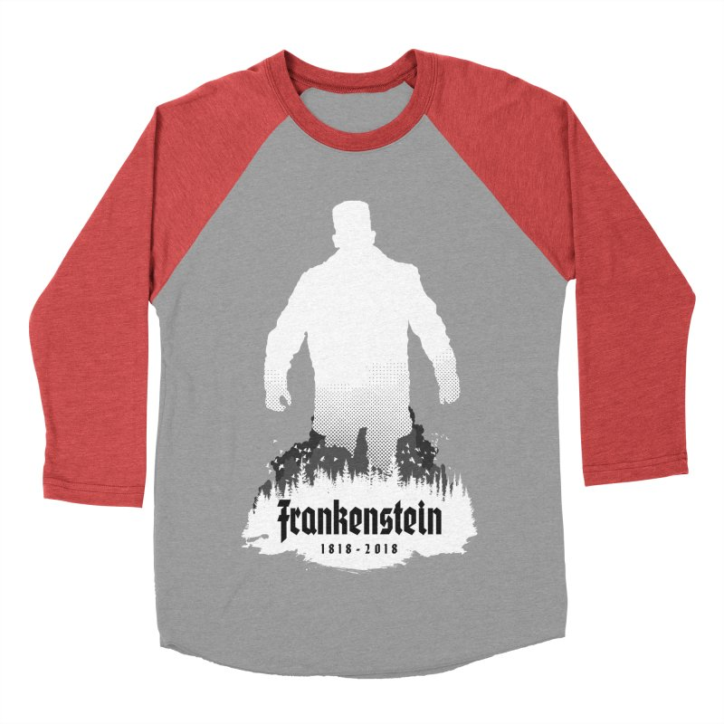 Frankenstein 1818-2018 - 200th Anniversary INV Men's Baseball Triblend Longsleeve T-Shirt by Grandio Design Artist Shop