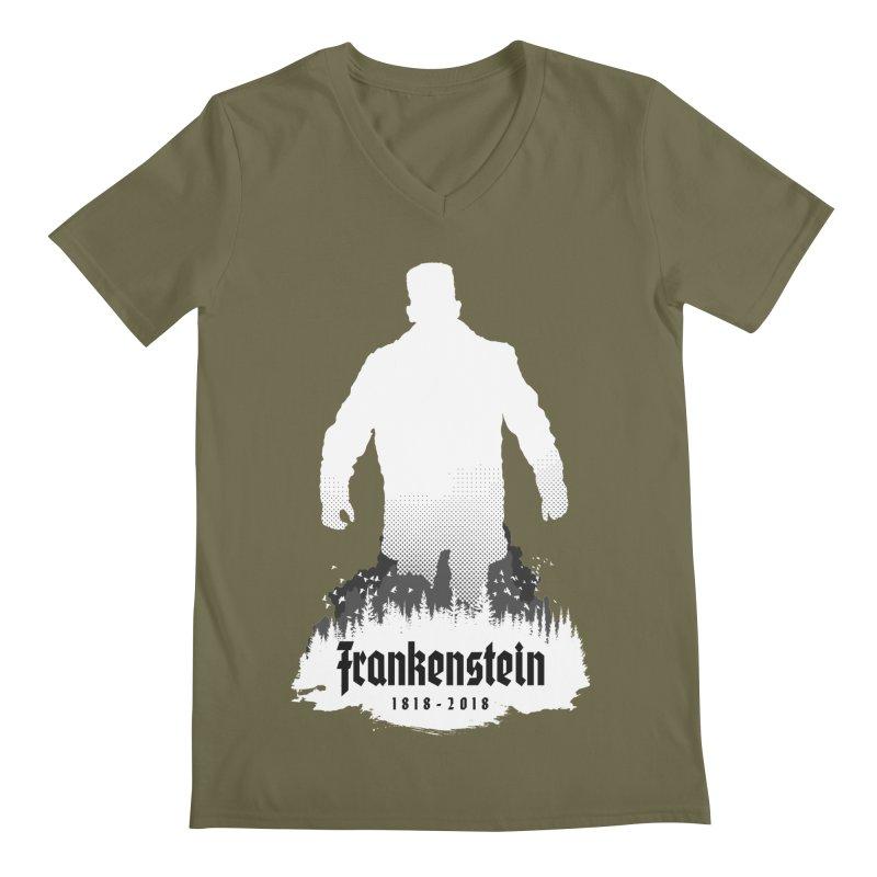 Frankenstein 1818-2018 - 200th Anniversary INV Men's Regular V-Neck by Grandio Design Artist Shop