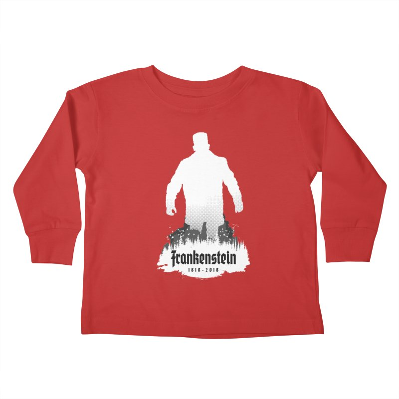 Frankenstein 1818-2018 - 200th Anniversary INV Kids Toddler Longsleeve T-Shirt by Grandio Design Artist Shop
