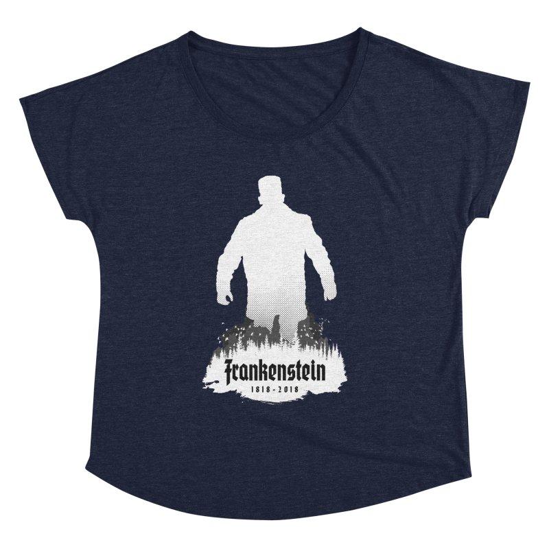 Frankenstein 1818-2018 - 200th Anniversary INV Women's Dolman Scoop Neck by Grandio Design Artist Shop