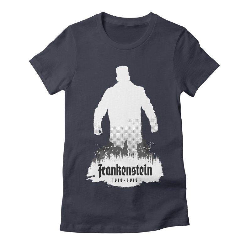 Frankenstein 1818-2018 - 200th Anniversary INV Women's Fitted T-Shirt by Grandio Design Artist Shop