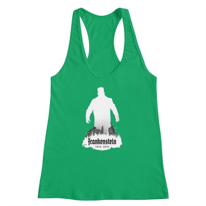 Frankenstein 1818-2018 - 200th Anniversary INV Women's Racerback Tank by Grandio Design Artist Shop