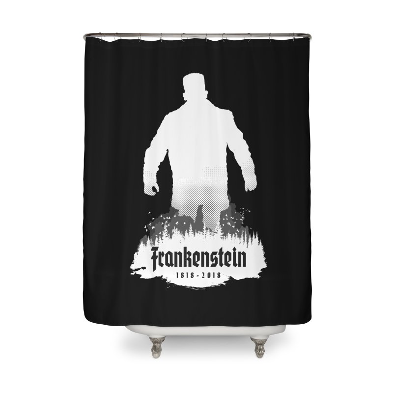 Frankenstein 1818-2018 - 200th Anniversary INV Home Shower Curtain by Grandio Design Artist Shop